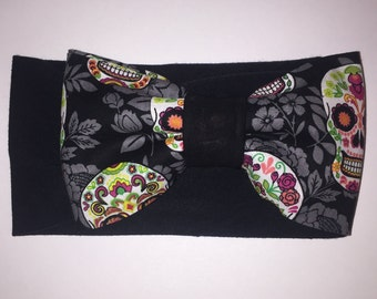 Sugarskull bow with headband