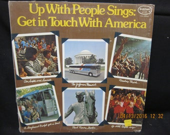 Up With People Sings Get In Touch With America - 1974