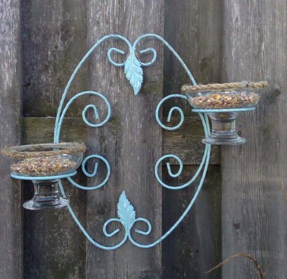 Bird Feeder Outdoor Decor Hanger Plant Holder