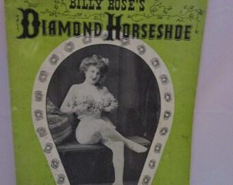 Billy Roses Diamond Horseshoe Program