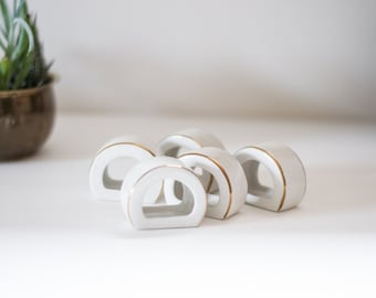 Porcelain Napkin Holders