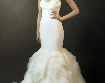 LS4/ Lily/ Mermaid- 3D Wedding Dress Collection