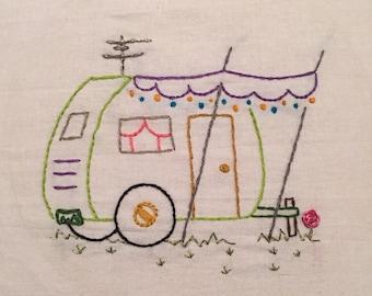 La Casita Hand sewn Embroidery Design
