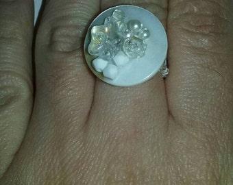 Ring button fataisie