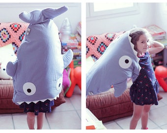 Whale & Shark sleeping bag