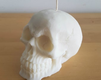 100% Soy Skull Candle