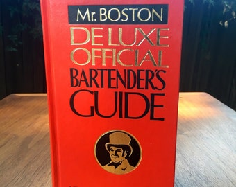 Mr. Boston Bartenders Guide Book