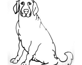 Dog Canine Pet Metal Wall Art Decor