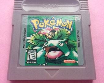 Pokemon Green for Nintendo Gameboy