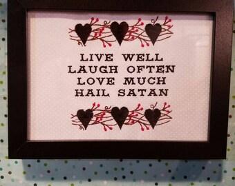 Live, Laugh, Love, Satan