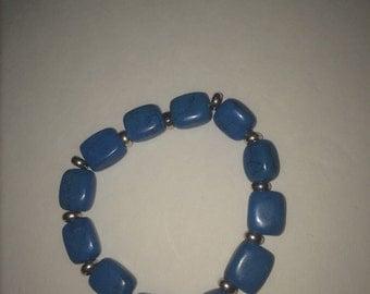 Turquose colored bracelet
