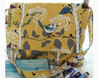 Messenger Bag Sewing Card Pattern from Valori Wells Designs