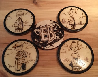 Earth Bound  Coasters