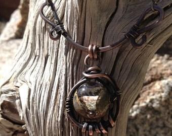 Terra Incognito pendant necklace