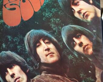 The Beatles Rubber Soul vinyl album