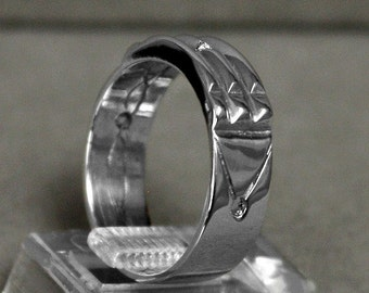 Atlantis Ring silver