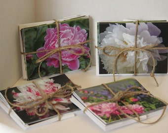 Floral Photo Note cards