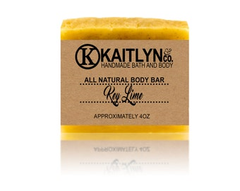 Key Lime Soap, All Natural, Handmade, Vegan