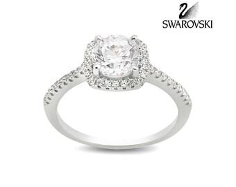 Swarovski Solitaire Ring R1026WW