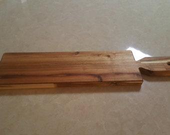 Long Acacia serving paddle