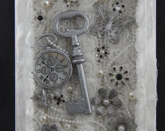 Metal and Lace Shadowbox