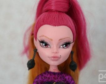 GIGIBELLE - a wonderful OOAK custom repaint Monster High Doll by p4d