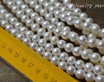DIY Freshwater Pearl Freshwater Pearl,large hole potato pearl,Loose pearl,Jewelry,loose beads 9.5-10.5mm 41pcs wedding Full Strand LY2013