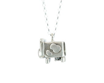 Maisie Dairy Cow Necklace