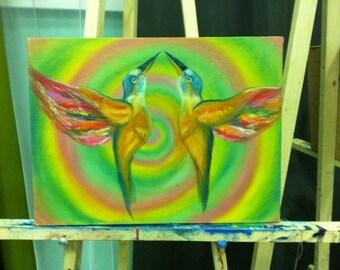 Seeking Love Colibri