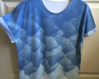 Graphic design oversized tshirt