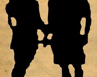 vintage silhouette 02