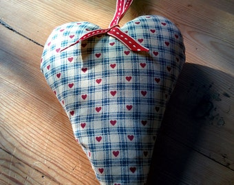 Large fabric heart