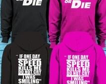 Fast & Furious Inspired Ride or Die Hoodie - Paul Walker Quote on Rear