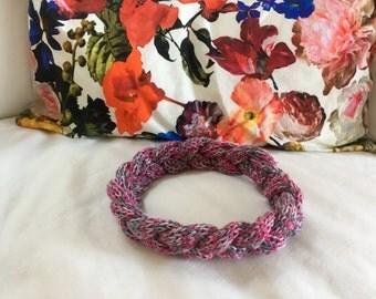 Cotton Headband // Variegated Pink