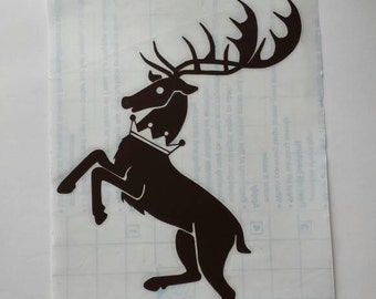 Baratheon Sigil Decal, Game of Thrones Sticker, House Baratheon Vinyl Decal