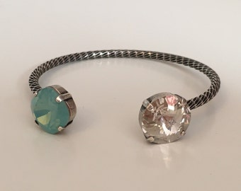 Pacific Opal Swarovski Crystal Bracelet