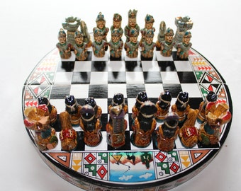 Andes Chessboard: Spanish Conquistadors vs. the Incas