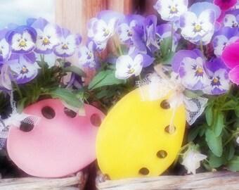Pink Egg thread keeper - Portafili Uovo rosa