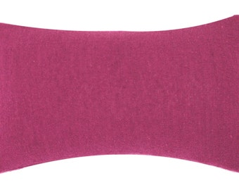 Outdoor Lumbar Pillow Slipcovers 12 x 22,  in Orchid, Natural Grey, White