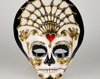 Santa Mask Day of Dead