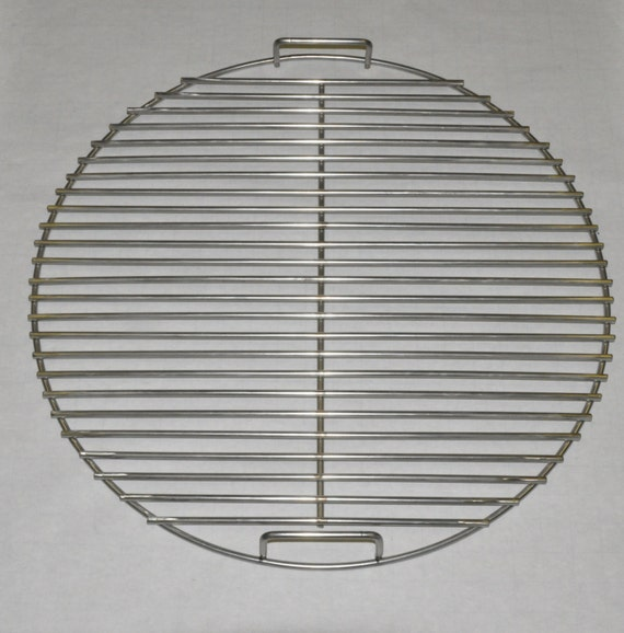 21 5 round bbq stainless grill cooking grate kg7435 for Weber grill alternative