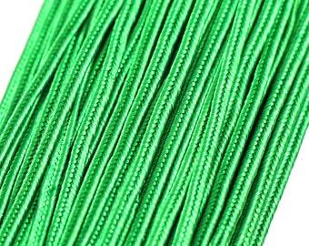 LAST 2.2 m rayon Soutache braid 3 mm, flat trim braids, cord for jewelry making