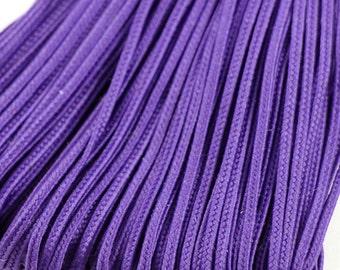 5 m Soutache braid 2.5 mm, flat trim braids, cord for jewelry making, rayon, viscose cord, turkish soutache