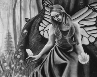 Flowerfly (original drawing)