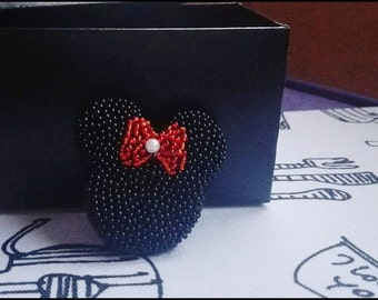 Minnie Mouse brooch