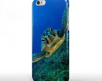 Turtle Ocean iPhone 6 Case iPhone 6 Plus Case iPhone 6s Case iPhone Case Samsung Galaxy Case Samsung Galaxy S5 Case Galaxy S6 Case f017