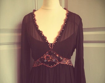 Beautiful bohemian dress, size 8