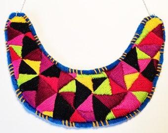 Berry Geometric Necklace