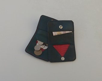Handcrafted Bifold Coin Purses