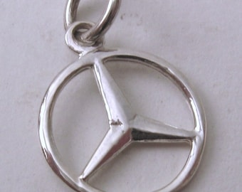 Mercedes jewelry etsy for Mercedes benz charm